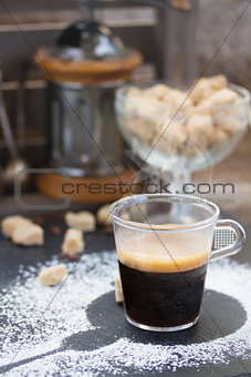 fresh coffee set