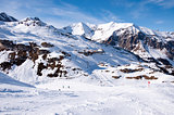 Ski station near Hintertux Glacier