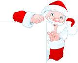 Santa Claus Holds Sing