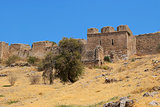 Walls of ancient Corinth.