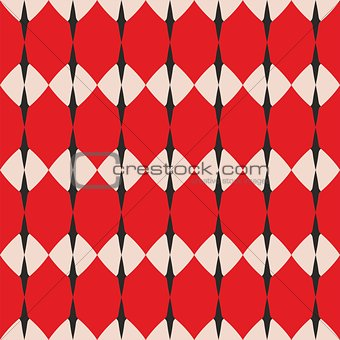 Tile pastel, red and grey vector pattern