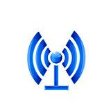 Network Symbol. Vector