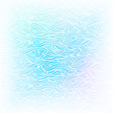 Seamless Abstract Vector Light Blue White Color Hand-drawn