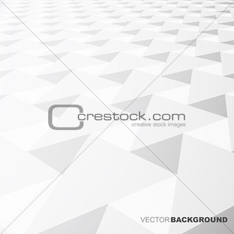 Abstract background- white shapes.