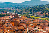 Oltrarno and Porta San Niccolo in Florence, Italy