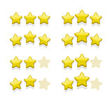 Vector sets of simple yellow stars