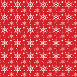 Snow Flakes Pattern Background