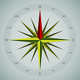 Cool 16 point compass design
