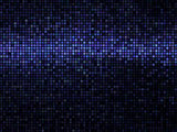Abstract mosaic background. Square pixel mosaic