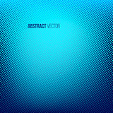 Blue abstract halftone background. Creative vector illustration