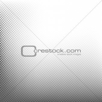 Abstract spotted halftone background. Vector illustration