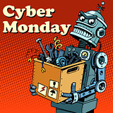 Robot Cyber Monday gadgets and electronics