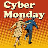 Cyber Monday shoppers run on sale