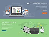 design for website of business planning,  analytis, strategy