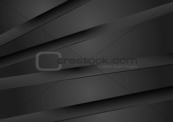 Abstract dark background with black stripes