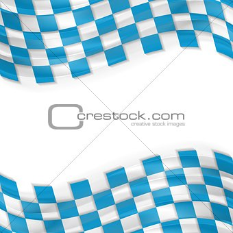 Oktoberfest abstract wavy bright background