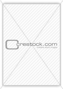 Grey stripes on white background