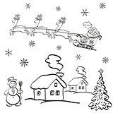 Holiday Christmas Cartoon