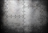 old steel metallic background