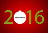 2016 new year. Happy holidays background