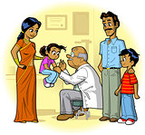 Indian Family Doctor Visit