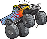Monster Truck Jumping