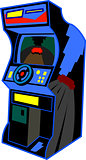 Retro Arcade Video Game