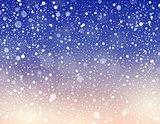 Abstract snow theme background 6