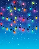 Christmas lights theme image 2