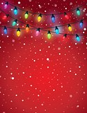 Christmas lights theme image 5