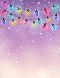 Christmas lights theme image 7