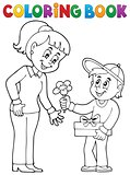 Coloring book Mothers Day theme 2
