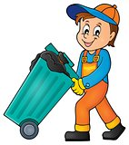 Garbage collector theme image 1