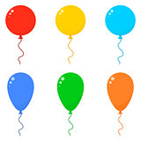 Icon Set Balloons