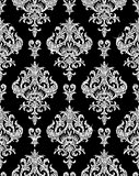 floral silver wallpaper