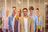 Portrait of creative team
