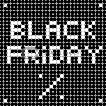 black friday dots