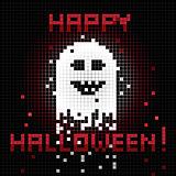 pixel halloween ghost