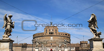 Castel Sant' Angelo in Rome, Italy