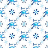 Seamless christmas white pattern
