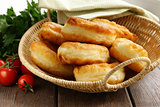 homemade fried pies with potatoes
