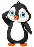 Penguin Salute