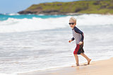 kid at kauai