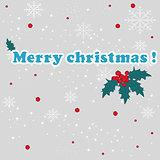 Merry Christmas, vector illustration