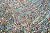 river gravelbar texture and pattern