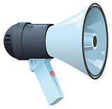 Modern electric horn speaker megaphone