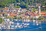Town of Skradin on Krka river