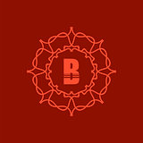 Simple  Monogram B