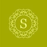Simple  Monogram S