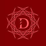 Simple  Monogram D